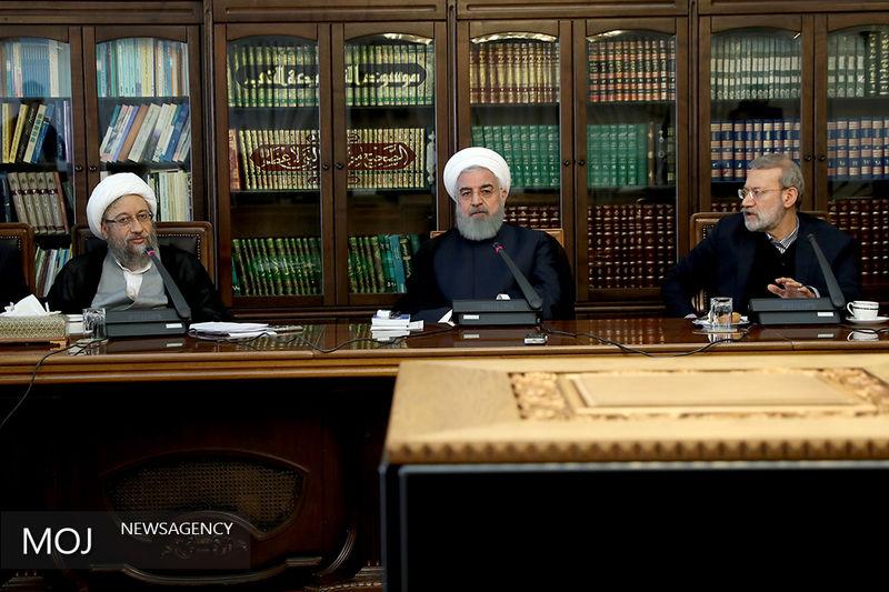 جلسه شورای عالی هماهنگی اقتصادی سه قوه برگزار شد