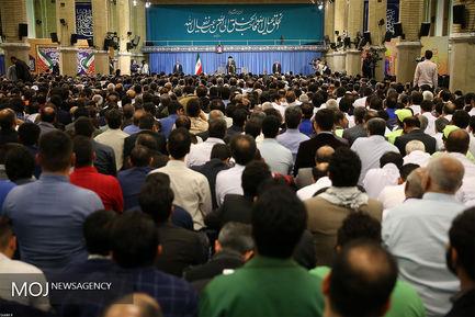دیدار جمعی از کارگران سراسر کشور با مقام معظم رهبری