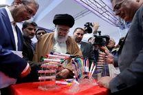 رهبر معظم انقلاب اسلامی از  نمایشگاه کالای ایرانی بازدید کردند