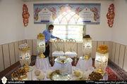 میزبانی اتاق عقد حرم بانوی کرامت از ۶۵ زوج جوان