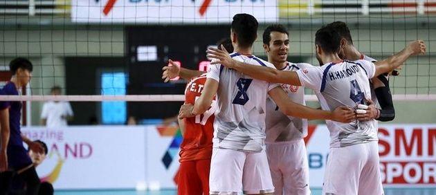 امیدهای والیبال ایران باز هم به لوزانو رسیدند