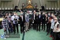 صحن علنی مجلس شورای اسلامی در روز خبرنگار