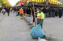 آماده باش بیش از 2 هزار کارگر برای نظافت شهر در تاسوعا و عاشورای حسینی در اصفهان