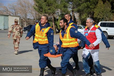 رزمایش مشترک بین بیمارستانی نیروهای مسلح در اصفهان