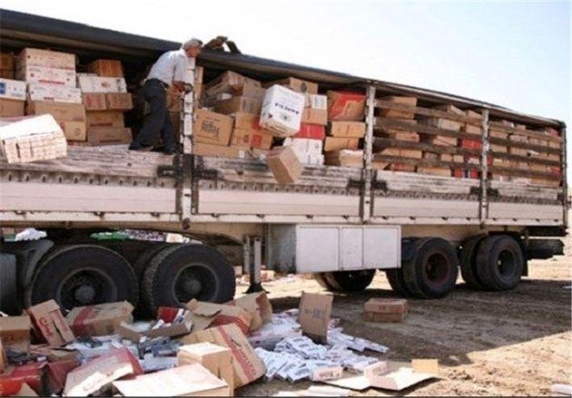 کشف 4 میلیارد ریالی انواع کالای قاچاق در بندرخمیر