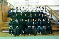بانوان جودوکار خراسان رضوی قهرمان کاتای ایران شدند
