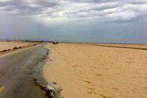 تخریب بخشی از جاده ساحلی قشم/اعلام ممنوعیت تردد