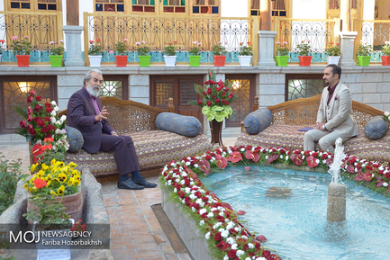 پشت صحنه برنامه ویژه نوروزی در صدا و سیمای اصفهان
