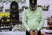 سارق مأمور نما در هرمزگان دستگیر شد