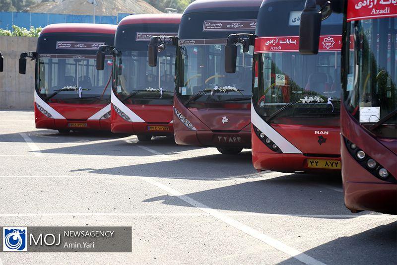 اتوبوسهای شرکت واحد تهران از ۶ صبح امروز در آماده باش هستند