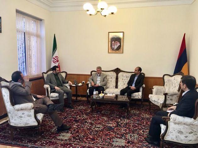 سفیر ایران در ارمنستان بر اهمیت احداث جاده ترانزیتی شمال - جنوب تاکید کرد