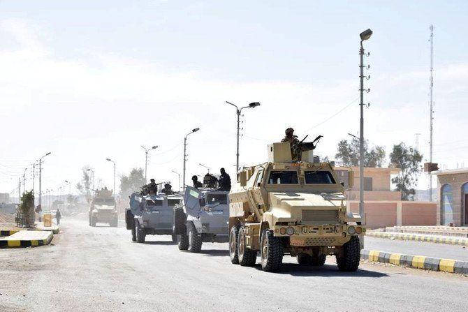 درگیری ارتش مصر با شبه نظامیان در شبه جزیره سینا