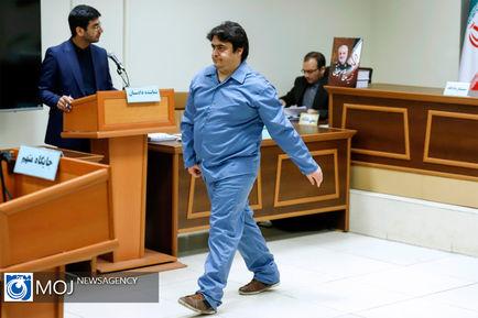 سومین جلسه دادگاه رسیدگی به پرونده روح الله زم