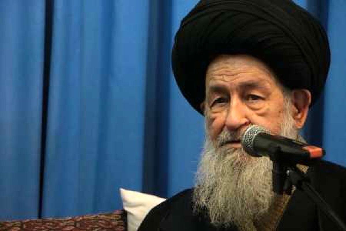 پیام تسلیت آیت الله علوی گرگانی درپی درگذشت آیت الله حسینی کاشانی