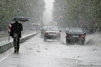 ترافیک در آزاد راه تهران-کرج نیمه سنگین است/ بارش باران در 7 استان کشور