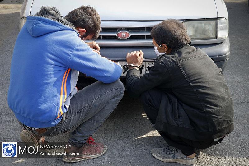انهدام 2 باند سرقت خودرو و مغازه در اصفهان / کشف 30 میلیارد اموال مسروقه