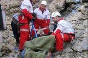 نجات کوهنورد گرفتار در ارتفاعات غرب اصفهان