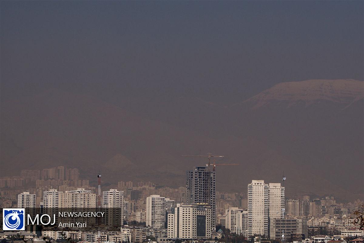 کیفیت هوای تهران ۲۱ تیر ۱۴۰۰/ شاخص کیفیت هوا به ۱۱۶ رسید