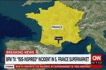 گروگانگیری در فرانسه پایان یافت