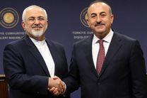 گفتگوی ظریف و چاووش اوغلو درخصوص حمله ترکیه به سوریه