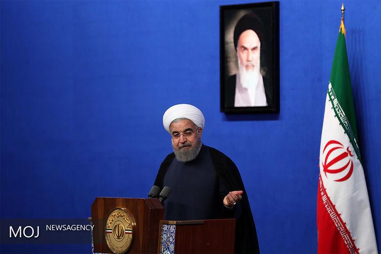 سخنرانی روحانی در دانشگاه تهران آغاز شد