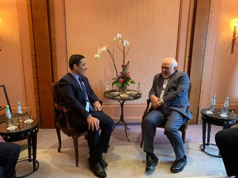 ظریف با وزیر امور خارجه کویت در مونیخ دیدار کرد