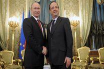 دعوت رئیس جمهور فرانسه از پوتین برای سفر به پاریس