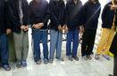 دستگیری باند ۸ نفره راهزنان و آدم ربایان در تهران