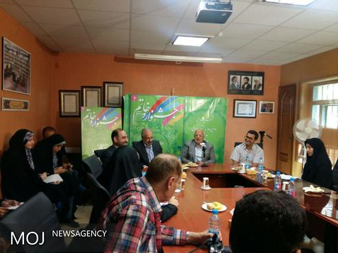 اشعری: به نوقلمها فرصت حضور دادهایم / شرکت کشورهای فارسیزبان در جشنواره خاتم