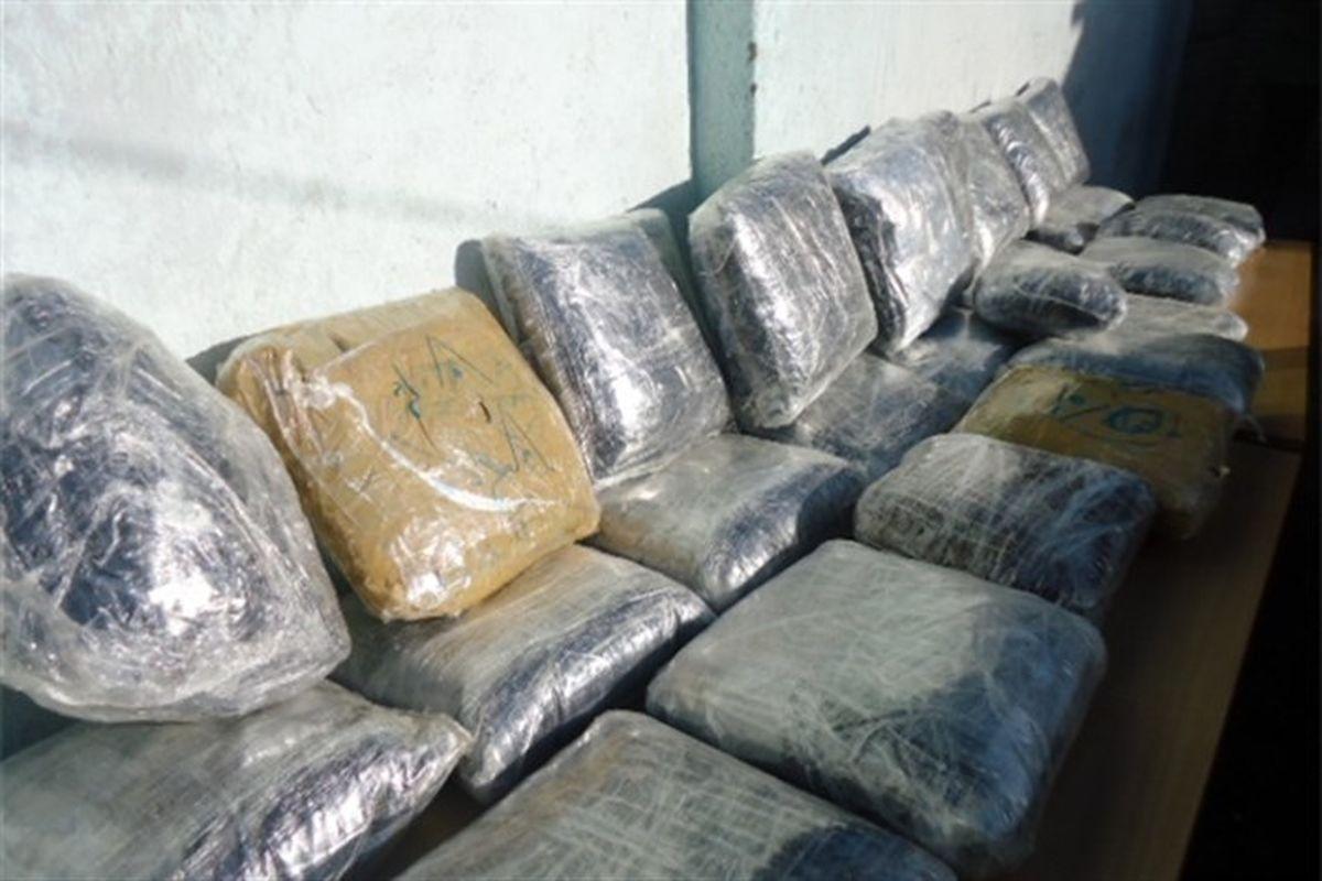 بیش از نیم تن مواد افیونی در هشتبندی کشف شد