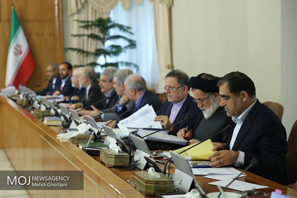 جلسه هیات دولت