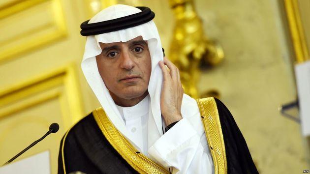 وزیر خارجه عربستان پا پیش گذاشت