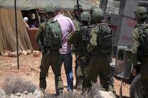 بازداشت 20 فلسطینی در حملات شبانه رژیم صهیونیستی به کرانه باختری