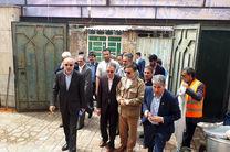 سفر عضو هیات مدیره بانک ملی ایران به منطقه سیل زده پلدختر