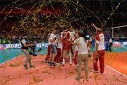 لهستان جام قهرمانی والیبال جهان را بالای سر برد