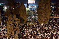 مشارکت بیش از 300 هزار فلسطینی در مراسم شب قدر در مسجد الاقصی