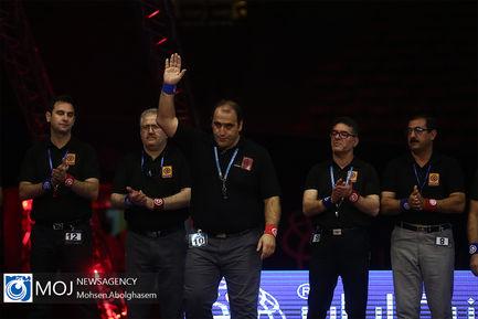 روز پایانی نوزدهمین مسابقات لیگ برتر کشتی آزاد