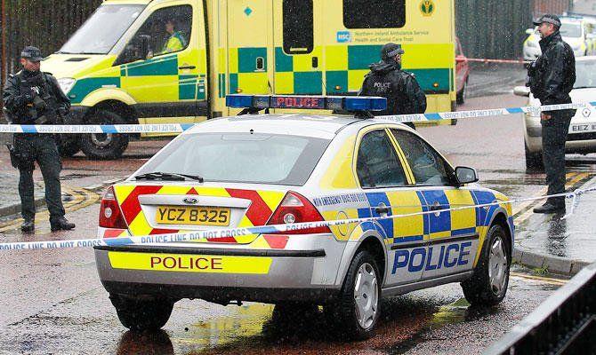 تیراندازی در ایرلند شمالی