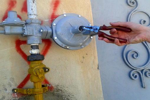 نشت یابی بیش از سه هزار علمک جهت ایمنی مشترکین گاز طبیعی شهرستان لالی