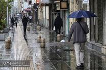 باران و رعد و برق در غرب هرمزگان