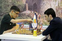 دو پیروزی، دو تساوی و سه شکست نتیجه رقابت  شطرنج بازان ایرانی با منتخب جهان