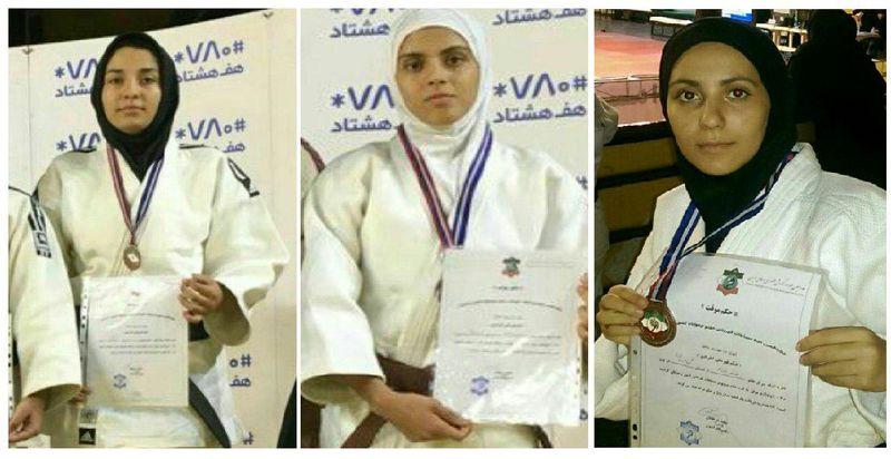 دختران جودوکار کردستانی سه نشان برنز رقابت های کشوری را به ارمغان آوردند