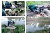 آزادسازی 99 هکتار از اراضی بستر دریاچه سد زاینده رود