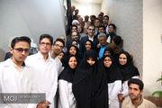 افتتاح پروژههای بهداشتی و درمانی شهرستان فردوس واقع در خراسان جنوبی
