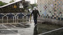 پیش بینی بارش شدید باران در 11 استان کشور