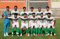 پیروزی تیم فوتبال ذوب آهن در دیدار دوستانه مقابل پیکان