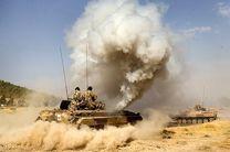 برگزاری رزمایش نیروهای نظامی در روانسر
