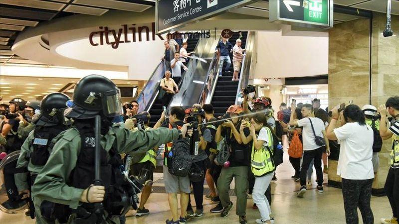 آمریکا نسبت به خشونت های هنگ کنگ ابراز نگرانی کرد
