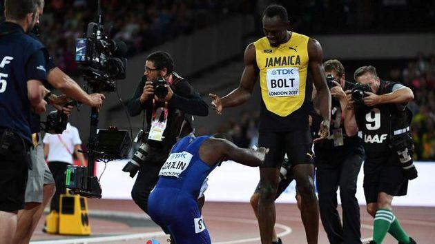 وداع تلخ بولت در آخرین رقابت دو 100متر / گاتلین قهرمان جهان شد