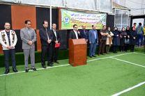 افتتاح طرح های عمرانی و خدماتی دبیرستان دوره دوم پسران سما واحد رشت